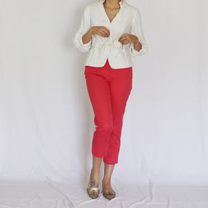 Talbots | The Perfect Crop Pink Pants